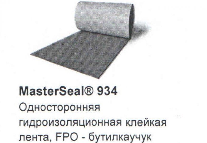MasterSeal 934