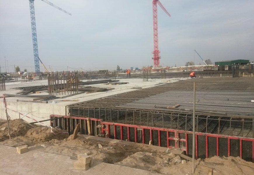 Строящийся стадион к ЧМ 2018