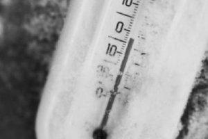 Ремонт при отрицательных температурах